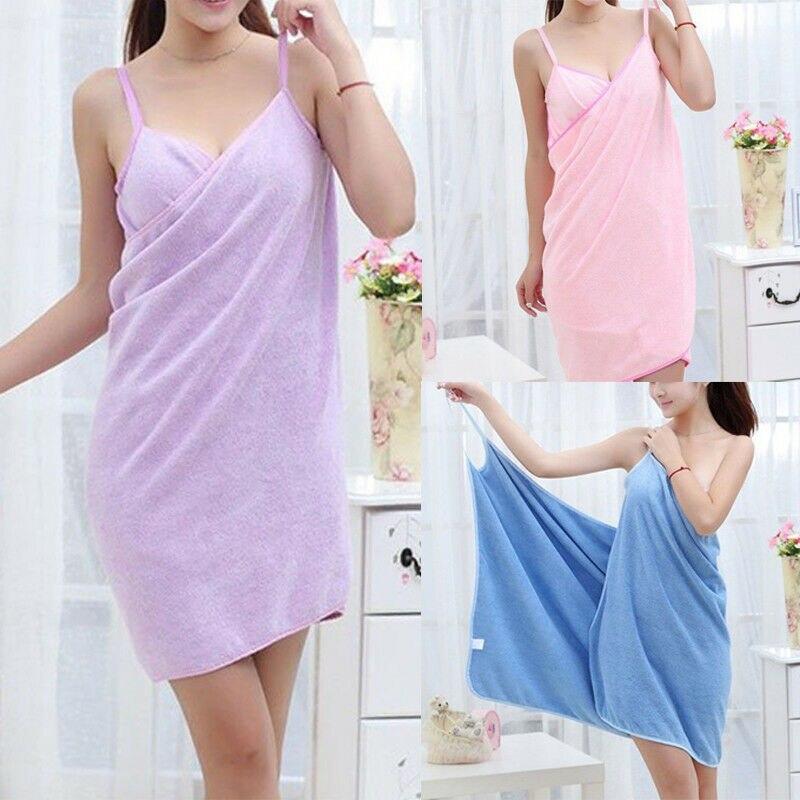 Домашний текстиль TowelWomen халаты для ванной носимое полотенце платье для девочек и женщин женская быстросохнущая пляжная спа Волшебная Ночная одежда для сна