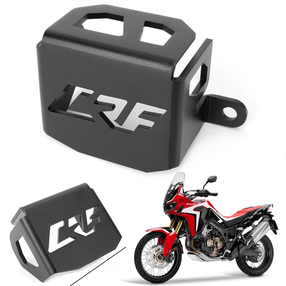 Depósito de freno trasero de motocicleta para HONDA CRF1000L CRF 1000L África Twin 2016 2017, protector de aluminio, accesorios