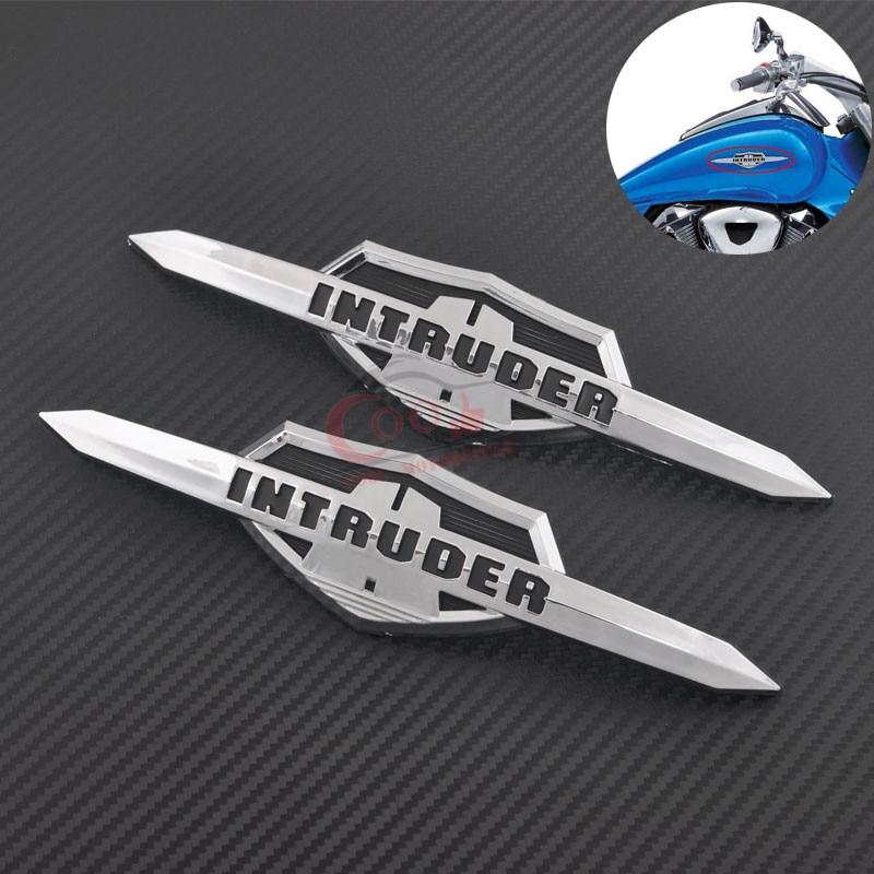 Motorcycle Decal Fuel Tank Stickers Fits For Suzuki Intruder 800 VS800GL Volusia 800 VL800 Gas Tank Emblem Badge Decals