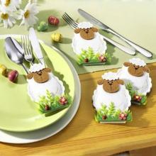 4 нож для овец и вилок сумки столовая посуда обложки пасхальные украшения предметов # AO