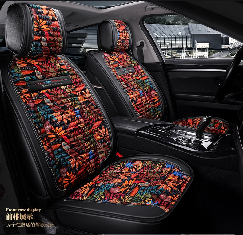 A tu gusto fundas de asiento de coche de lino para KIA Cerato Forte alma RIO KX3 KX5 KX7 KX CROSS SPORTAGE-R Pegas Cadenza K7 shuma carens