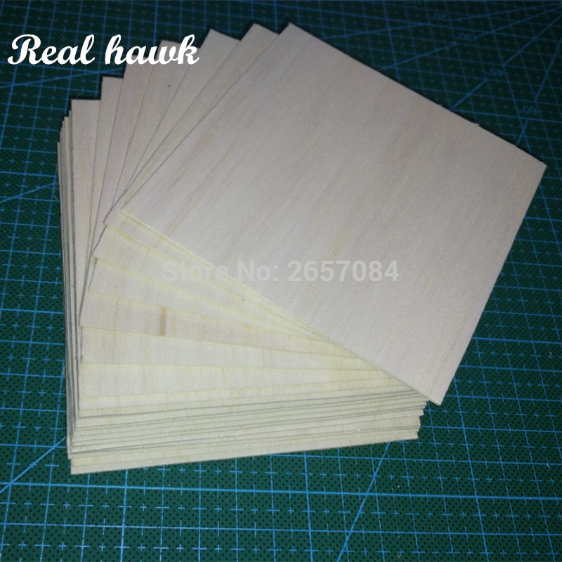 AliExpress - AAA+ Balsa Wood Sheet ply 20 Sheets 100x90x1mm Model Balsa Wood Can be Used for Military Models etc Smooth DIY  free shipping
