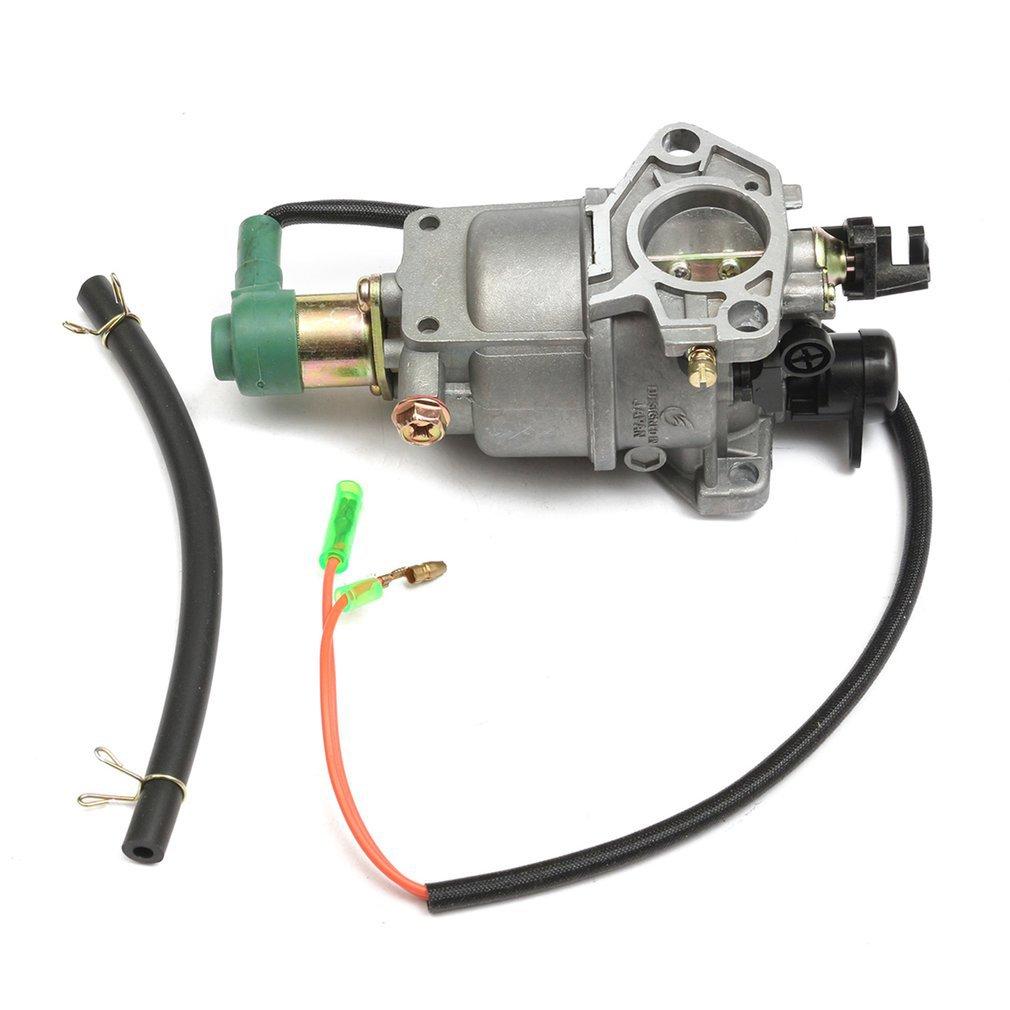 Портативный Карбюратор с 158 мм масляной трубой для генератора двигателя для Honda GX240 8HP GX270 9HP GX340 11HP GX390 13HP