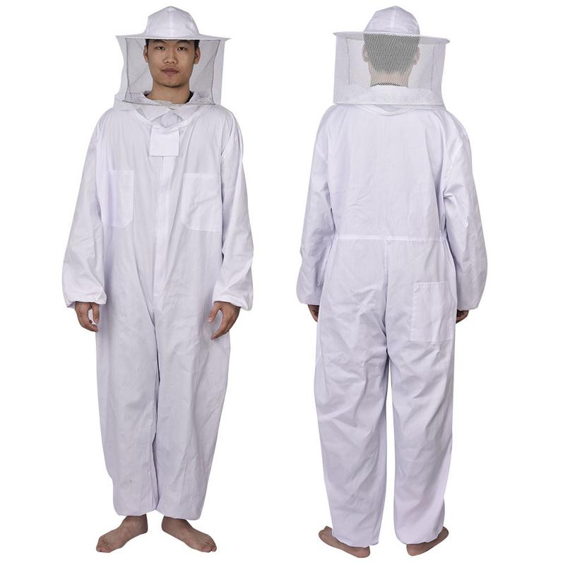 Apicultura Anti abeja ropa de apicultor traje apicultura Protetor equipo de apicultura ropa chaqueta sombrero traje producto herramientas de abeja
