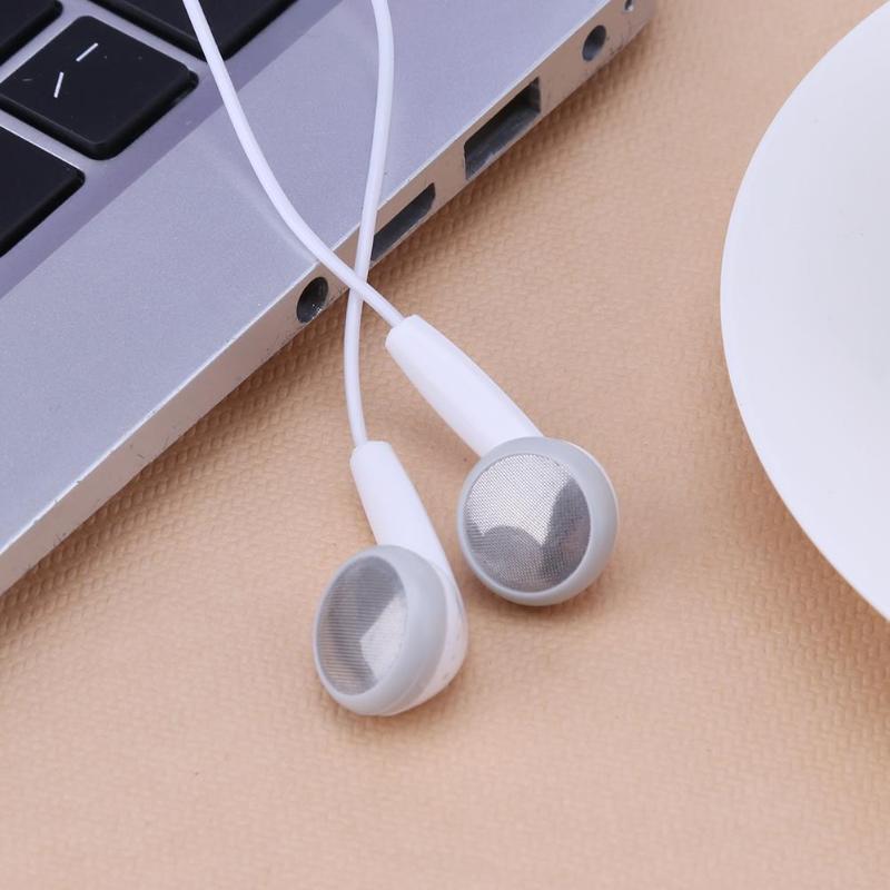 Auriculares internos estéreo universales con cable, 3,5mm, pequeños, baratos, con micrófono, teléfono...