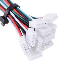 Micro JST XH 10 jeux   Connecteur à 4 broches 2.54mm avec 24AWG 1007 fils 150mm de longueur