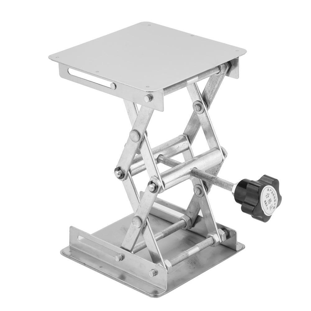 1 Rvs Lifting Platform Laboratorium Lifting Stand Schaar Rack Lift Stand Voor Hoogteverstelling Van Instrument
