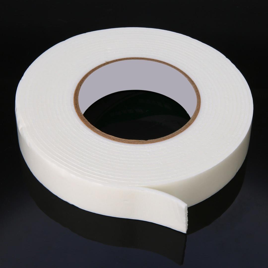 Mayitr 5 м супер сильная двусторонняя клейкая лента пенопластовая Двухсторонняя клейкая лента самоклеющаяся прокладка для крепления фиксации клейкая лента