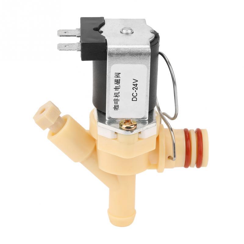 Válvula de solenoide normalmente eléctrica NC/normalmente DC24V Válvula de agua para máquina de café
