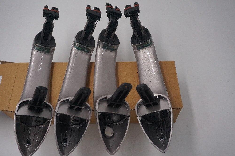 Color champán, con la comodidad de acceso de la manija de la puerta para BMW serie 5 F11 520d 520i 523i 525d 528i 530d 51217231931, 51217231932 51217