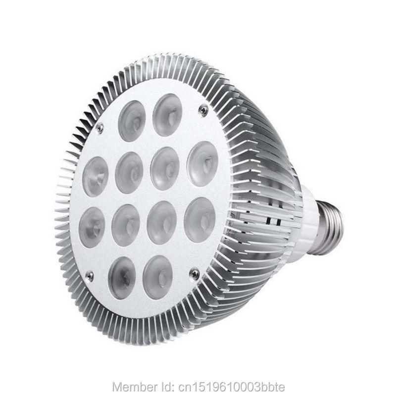 12 Uds garantía 3 años 100-110LM/W alto brillo 7W 9W 12W 15W regulable Par30 bombilla LED Par lámpara foco