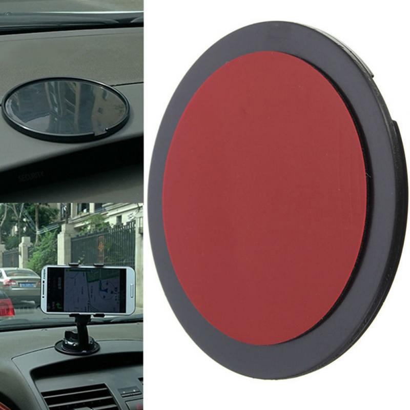 Suporte do Telefone do carro Adesivo Pegajoso Painel Ventosa Disco Disco Almofada Pegajosa Carro Montar Titular GPS