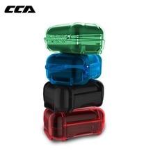 CCA kulaklık aksesuarları kulaklık sert çanta çantası Abs reçine su geçirmez renkli koruyucu taşınabilir saklama kutusu çanta kutusu kulakiçi