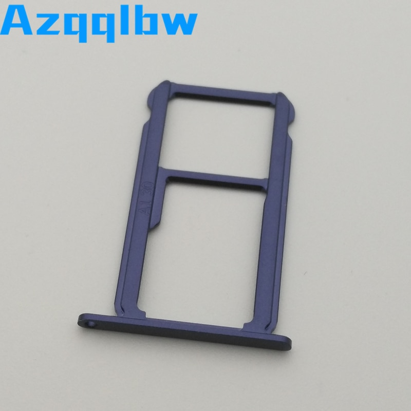 Azqqlbw 10 unids/lote para Huawei Honor 8 ranura para tarjeta Sim bandeja ranura para tarjetas piezas de repuesto para Huawei Honor 8 Sim Card