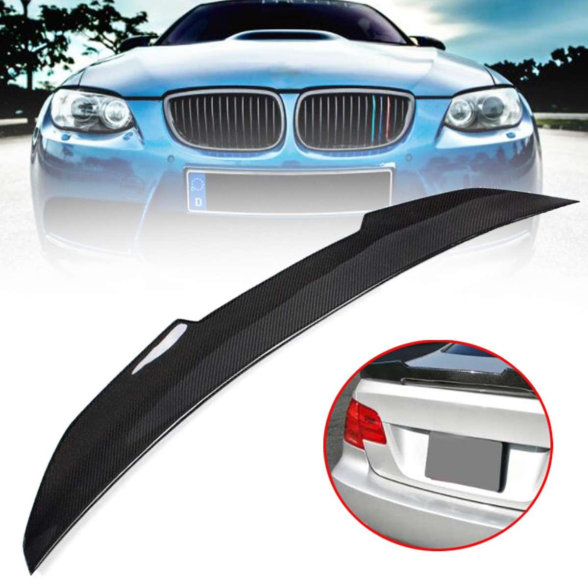 Alta calidad fibra de carbono Real alerón ala PSM estilo Highkick para 07-12 para BMW E92 335i 328i acoplador de 2 puertas de 3 SERIES