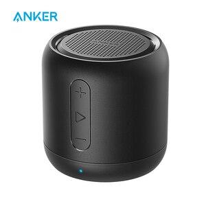 Anker Soundcore мини, супер-Портативный Bluetooth Динамик с 15 часов проигрывания, 66-диапазон Bluetooth, усиленный басовый микрофон
