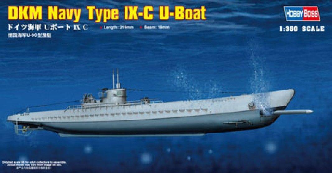 Модель модели Hobbyboss lX-C U-Boat 83508 1/350, немецкие весы