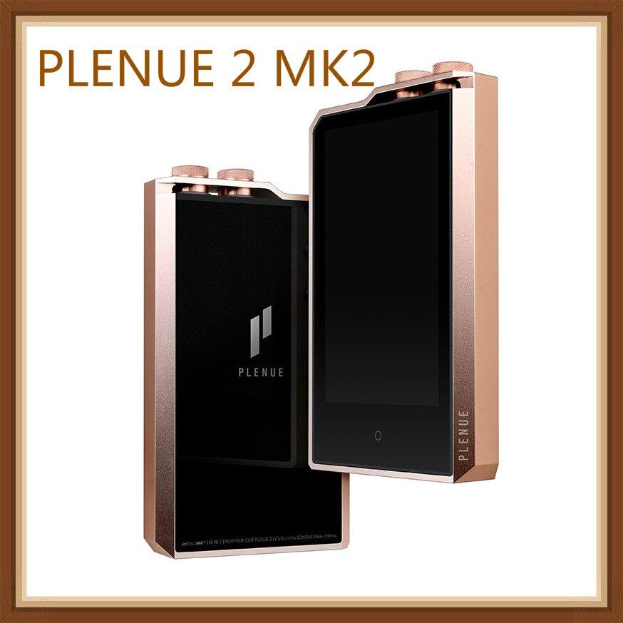 """Ai Di PLENUE COWON 2 MK2 Segunda Geração Portátil de Música de Alta Fidelidade DAC DSD Dual Core 3.7 """"24bit Portátil 256 GB P2 Music Player MP3"""