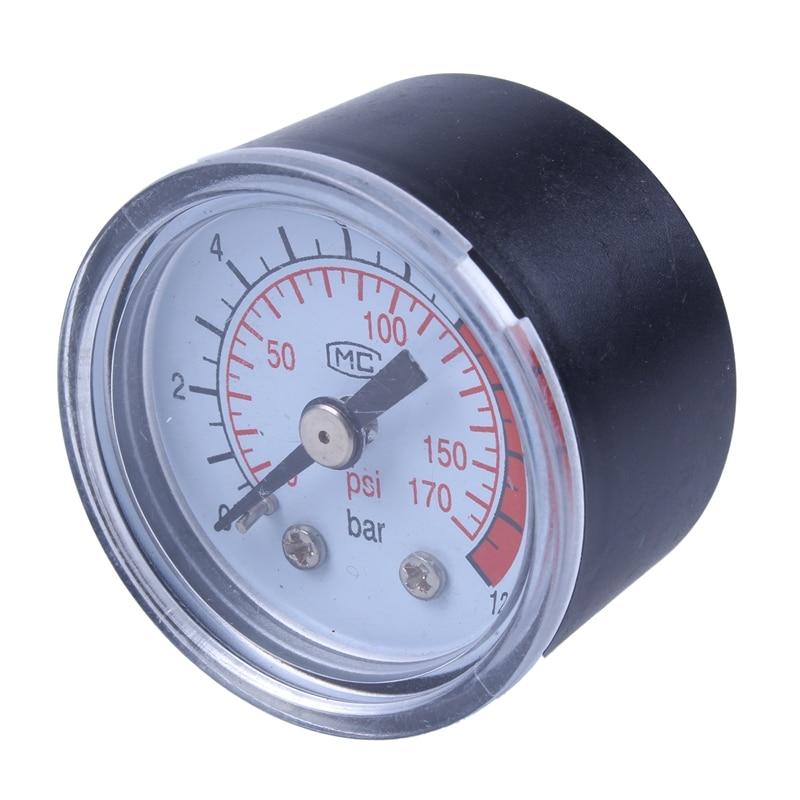 0-12BAR 0-170PSI 10mm rosca bomba de aire manómetro compresor manómetro