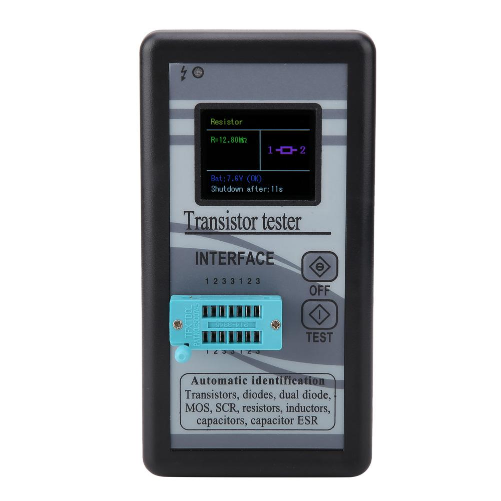 Nuevo probador de Transistor Digital de pantalla LCD multifuncional M328