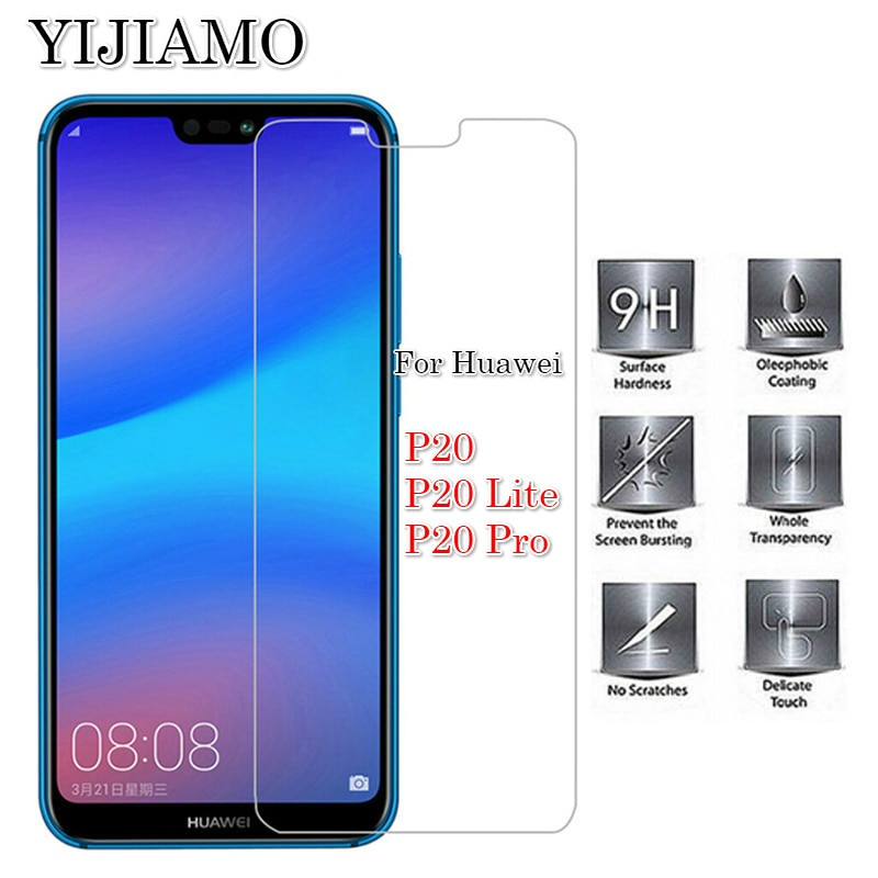 2.5D Cell Phone Protective Glass Film For Huawei P20 Lite 9H Tempered Glass For Huawei P20Lite Scree