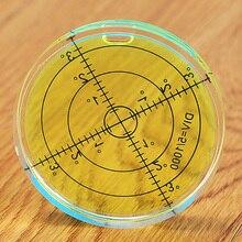 60*12mm okrągła poziomica pęcherzykowa poziomica okrągła poziomica pęcherzykowa uniwersalna Protractorm