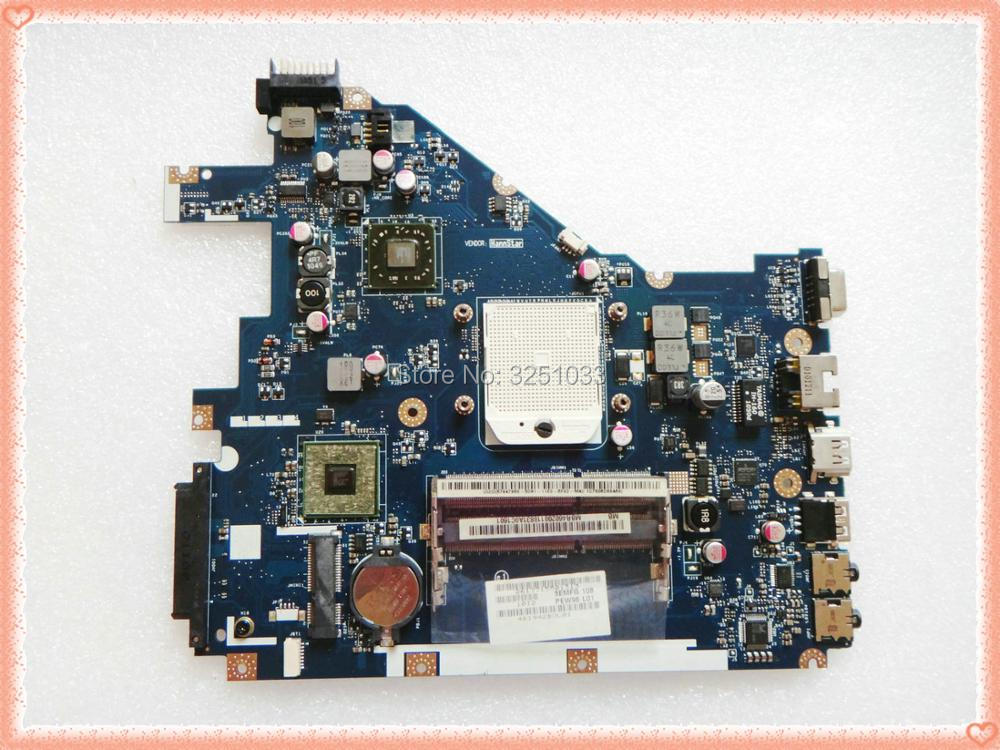 PEW96 L01 LA-6552P para ACER Aspire 5552G emachines eme442 Packard Bell EasyNote TK81 TK83 placa base de computadora portátil MBR4602001