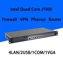 Firewall Mikrotik Pfsense Vpn Netwerk Security Appliance Router Pc Intel Quad Core Com J1900 [Hunsn SA19R],(4LAN/2USB/1COM/1VGA)