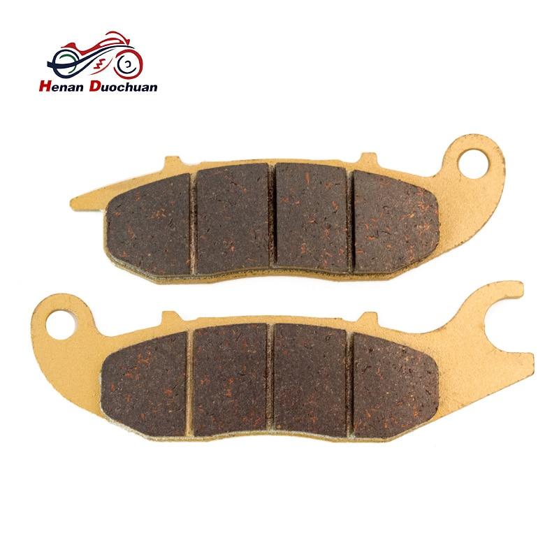 Plaquettes de frein arrière pour HONDA ANF CBF FS CBR 125 150   Plaquettes de frein avant, chaussures pour RIEJU NKD RS2 50 125 CQ 50 CU 125, tampons de frein arrière