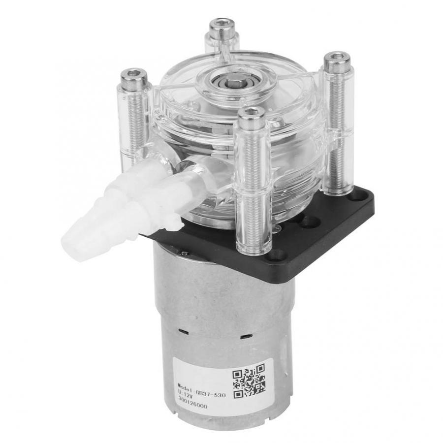 Gran flujo de peristáltica de dosificación de bomba de vacío de succión fuerte bomba + DC12v Motor