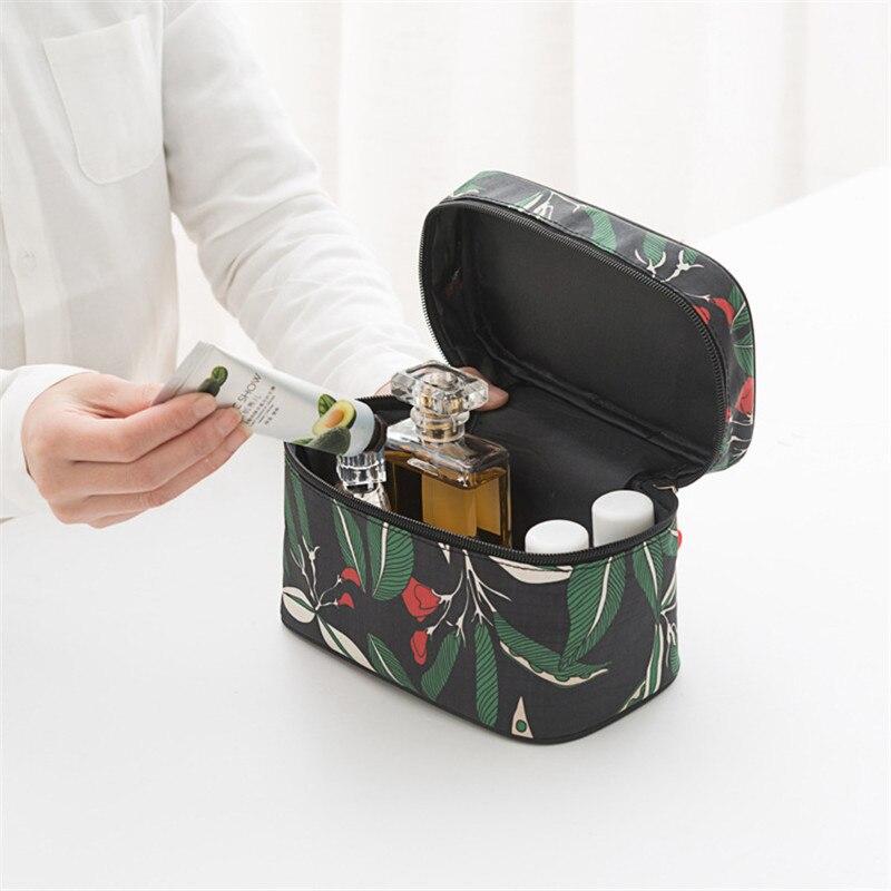 Tragbare Reise Kosmetische Lagerung Tasche Tote Make-Up Toiletry Tasche Große Kapazität Kosmetische Veranstalter Beutel Fall