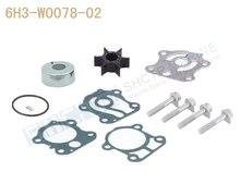 SHCTR Kit de pompe à eau et turbine   Pour OEM 6H3-W0078-02,Sierra 18-3465,50/60/70HP