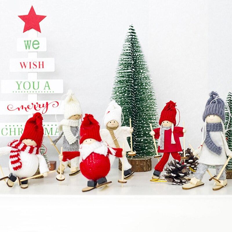 Кукла Ангел девочка Рождество креативная для дома Рождественская елка украшение
