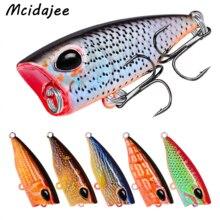 1PC Plastic So Cute Mini Popper Fishing Lures Bass Baits 3.5g 4.2cm Hard Lures Balancer Fishing Tackle Baits Crankbait Wobblers