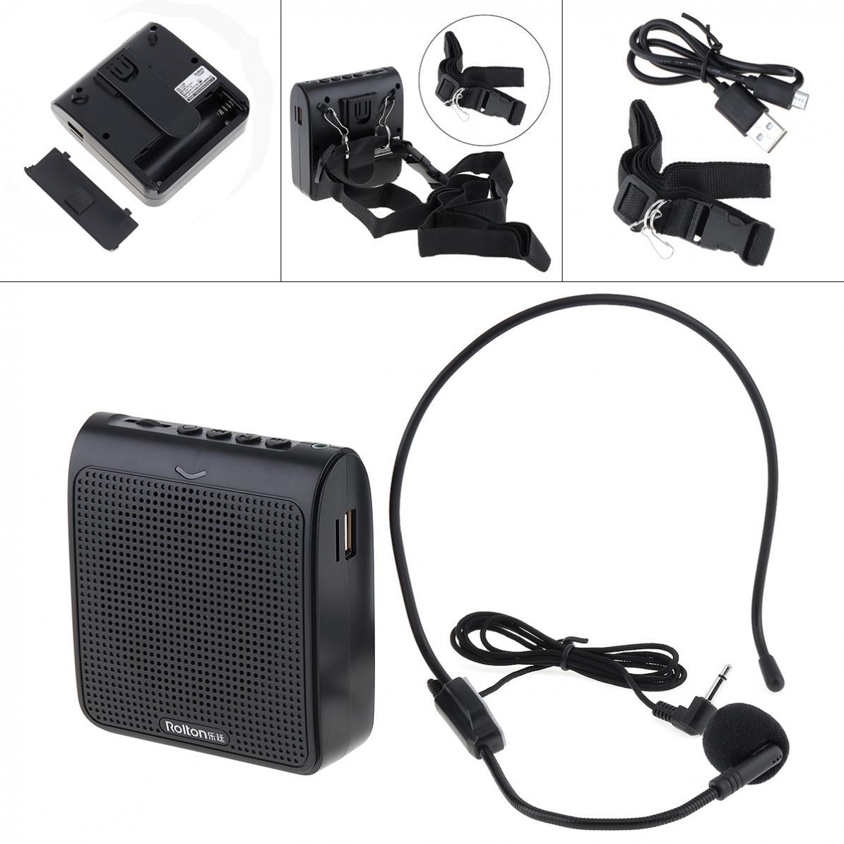 Rolton K100 проводной мини аудио динамик мегафон голосовой усилитель громкий