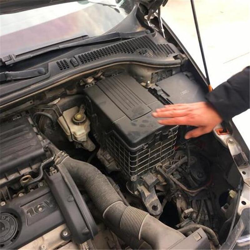 Car Engine Battery Dustproof Waterproof Cover for Skoda Kodiaq Octavia Tiguan Touran  Golf 6 Sportsvan