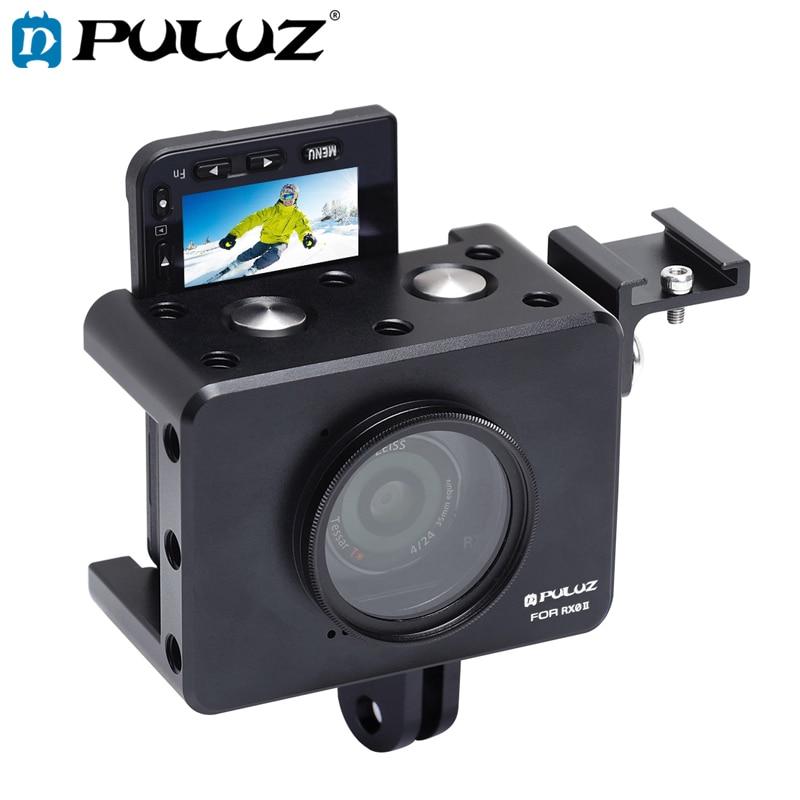 Caja protectora de la carcasa de PULUZ con lentes UV de 37mm...
