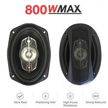 2pcs 4ohm 6x9 Automobile Speaker Automotive Audio Car Coaxial Speaker with Bass & Tweeter Music Auto Loudspeaker