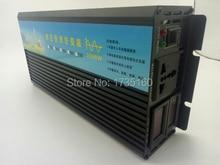 Onduleur onde sinusoïdale pure 110V/220V cc   Grille hors réseau, 2500 watts avec convertisseur filaire en V de 5000 watts