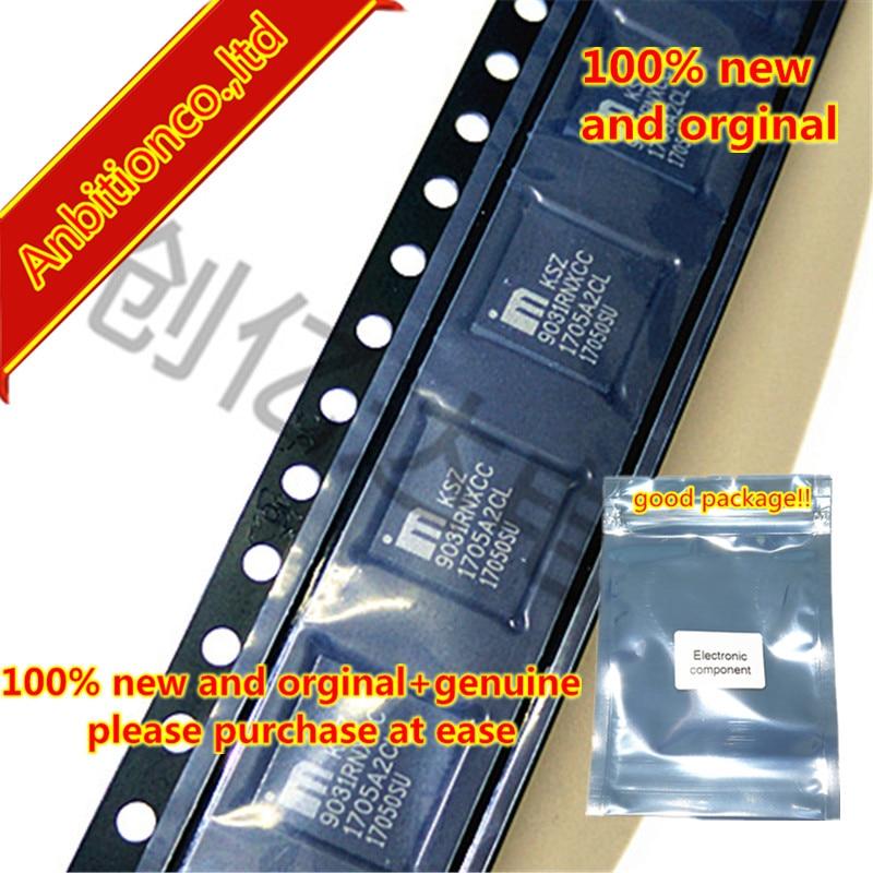 2-5 piezas 100% nuevo y original KSZ9031RNXCC 9031 RNXCC QFN-48 transceptor Gigabit Ethernet con RGMII apoyo en stock