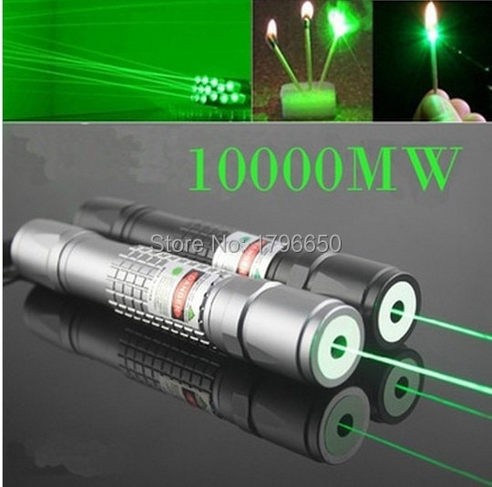 Hot! Military Green Laser Pointers 100w 100000m 532nm High Power Lazer Flashlight Burning Match & Light Burn Cigarettes Hunting