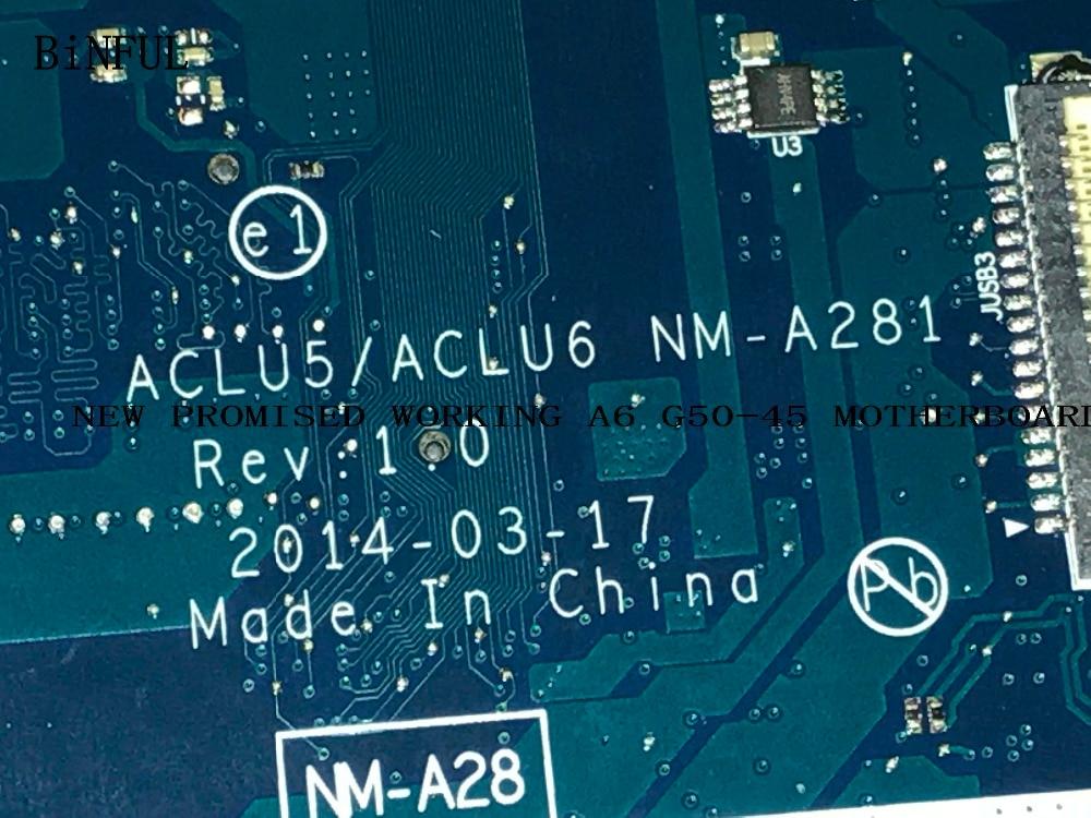 المتاحة .. جديد الرئيسية مجلس ACLU5 / ACLU6 NM-A281 A8 المعالج اللوحة المحمول لينوفو G50-45 مع الفيديو بطاقة