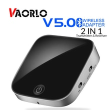 BTI-029 Bluetooth 5.0 Audio Bluetooth émetteur récepteur 2 en 1 3.5mm CSR8670 V5.0 sans fil adaptateur Bluetooth pour voiture et TV