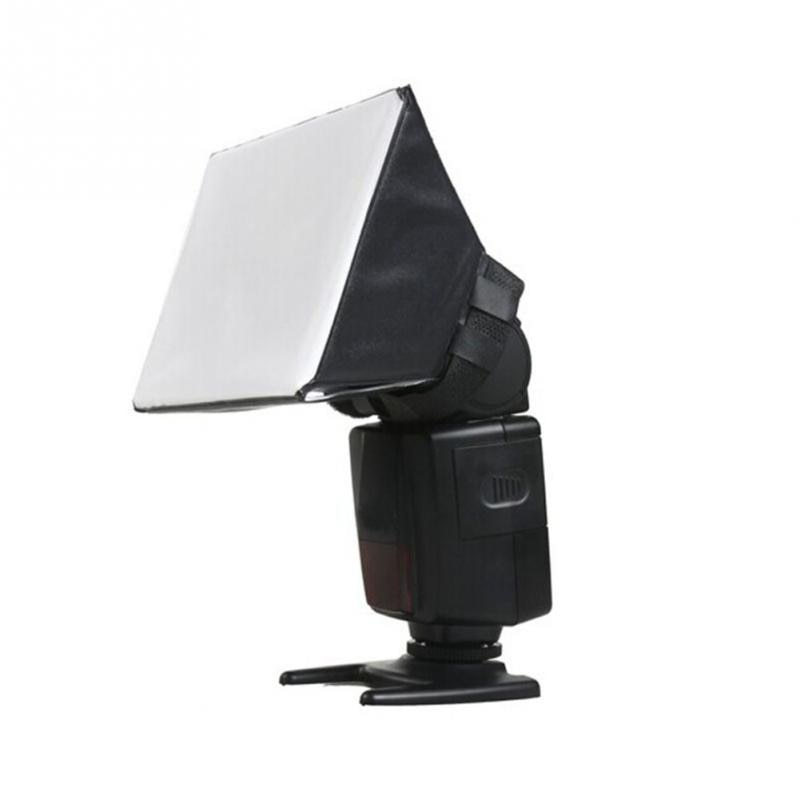 Portátil Omni rebote Softbox Kit fotografía de difusor de Flash para Canon Nikon para Pentax para DSLR de Sony Flash Speedlite #1022