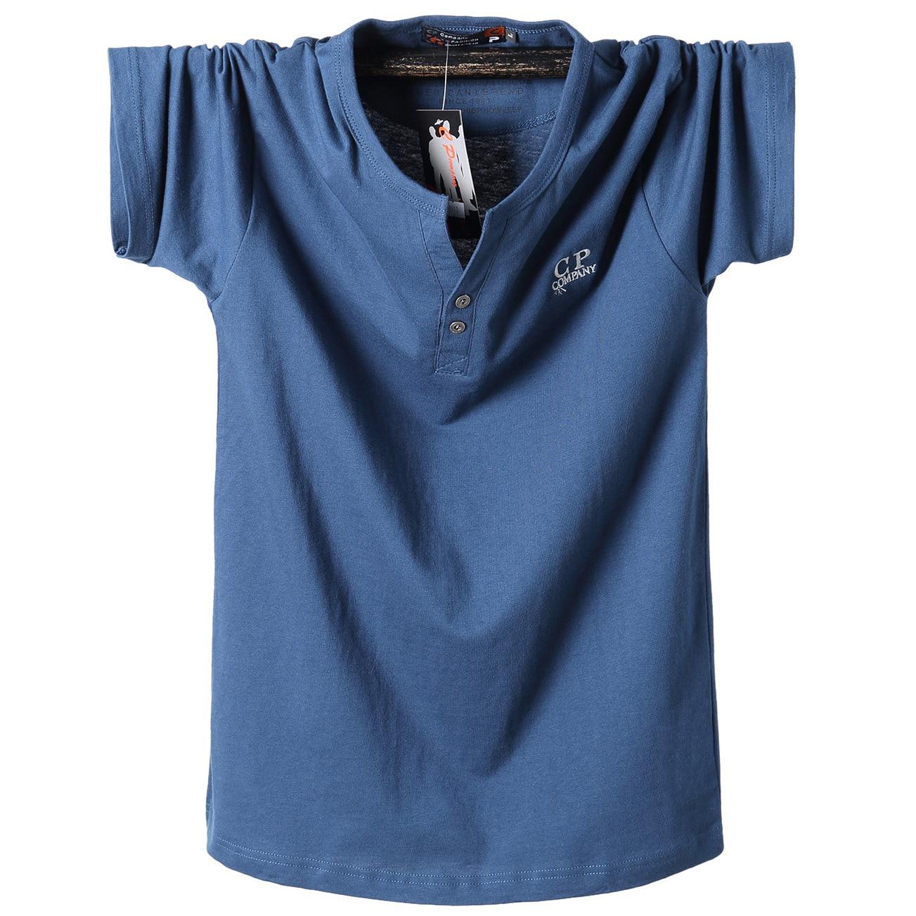 Summer New Plus T-shirts men Plus Size Short Sleeve T-Shirt Men Cotton Half Sleeved Casual T Shirt Extra Large size