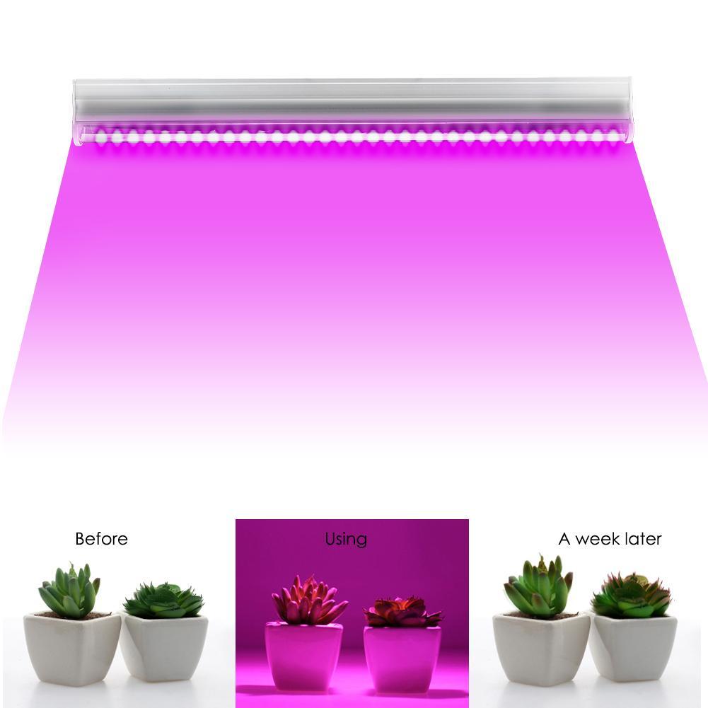 Lámparas LED para cultivo de plantas de 36 W, tubo de iluminación único T5, espectro T5, Bombilla de tubo de Interior de crecimiento completo