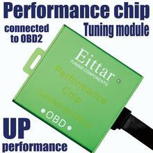 EITTAR OBD2 OBDII module de réglage de puces   Excellente performance pour Jaguar(Jaguar) f-type (Type F)