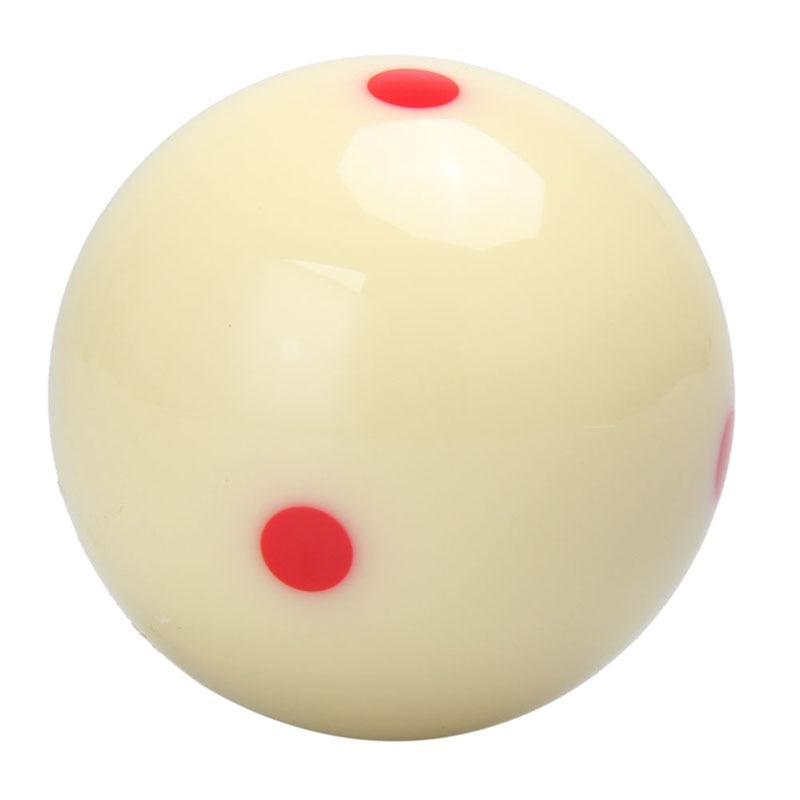 5,72 см красный 6 точка-точка Кори белый бассейн-Бильярд тренировка кия мяч бильярдный мяч замена