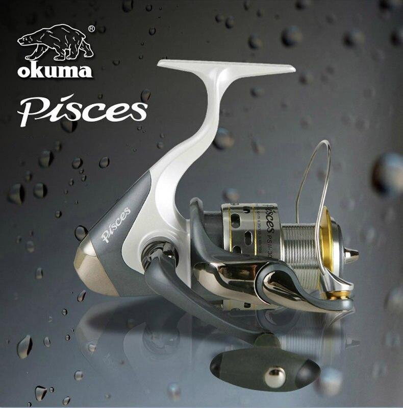 Okuma PSII-800 9BB Spinning Reel Metal Head High Strength Fishing Gear Carp Fishing Wheel Wire Spooler Line Coil Ocean Rod Reel enlarge