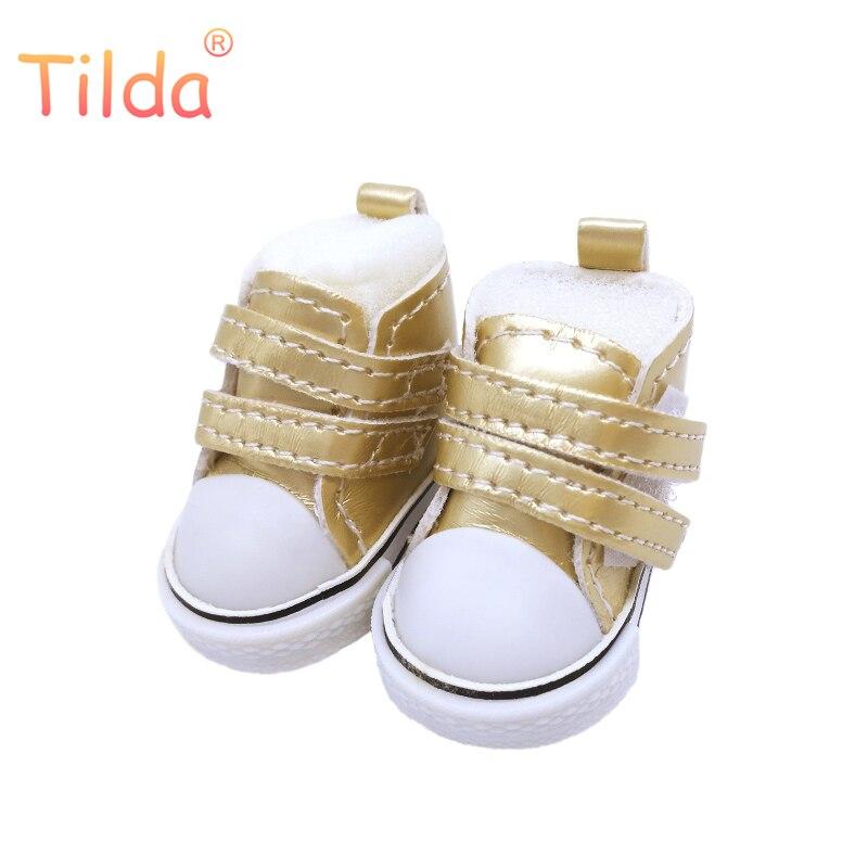 טילדה 5cm נעלי לבובות BJD צעצוע 1/6 חדר כושר ספורט עבור EXO 20cm קוריאה KPOP בפלאש בובות Littlefee accessorries עבור בובת צעצוע